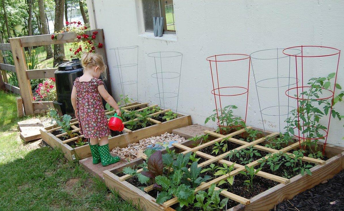 Делаем декоративный огород своими руками: идеи, стили, совместимость