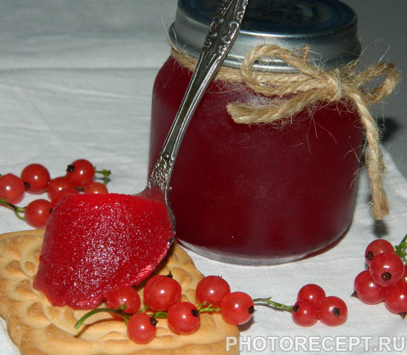 Варенье-желе из красной смородины: быстрые рецепты желейного варенья, как варить на зиму