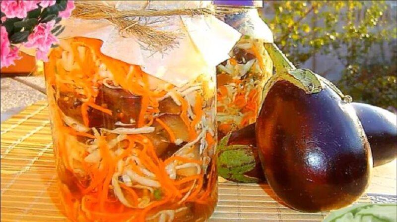 Баклажаны на зиму - лучшие рецепты с фото без стерилизации (пошагово)
