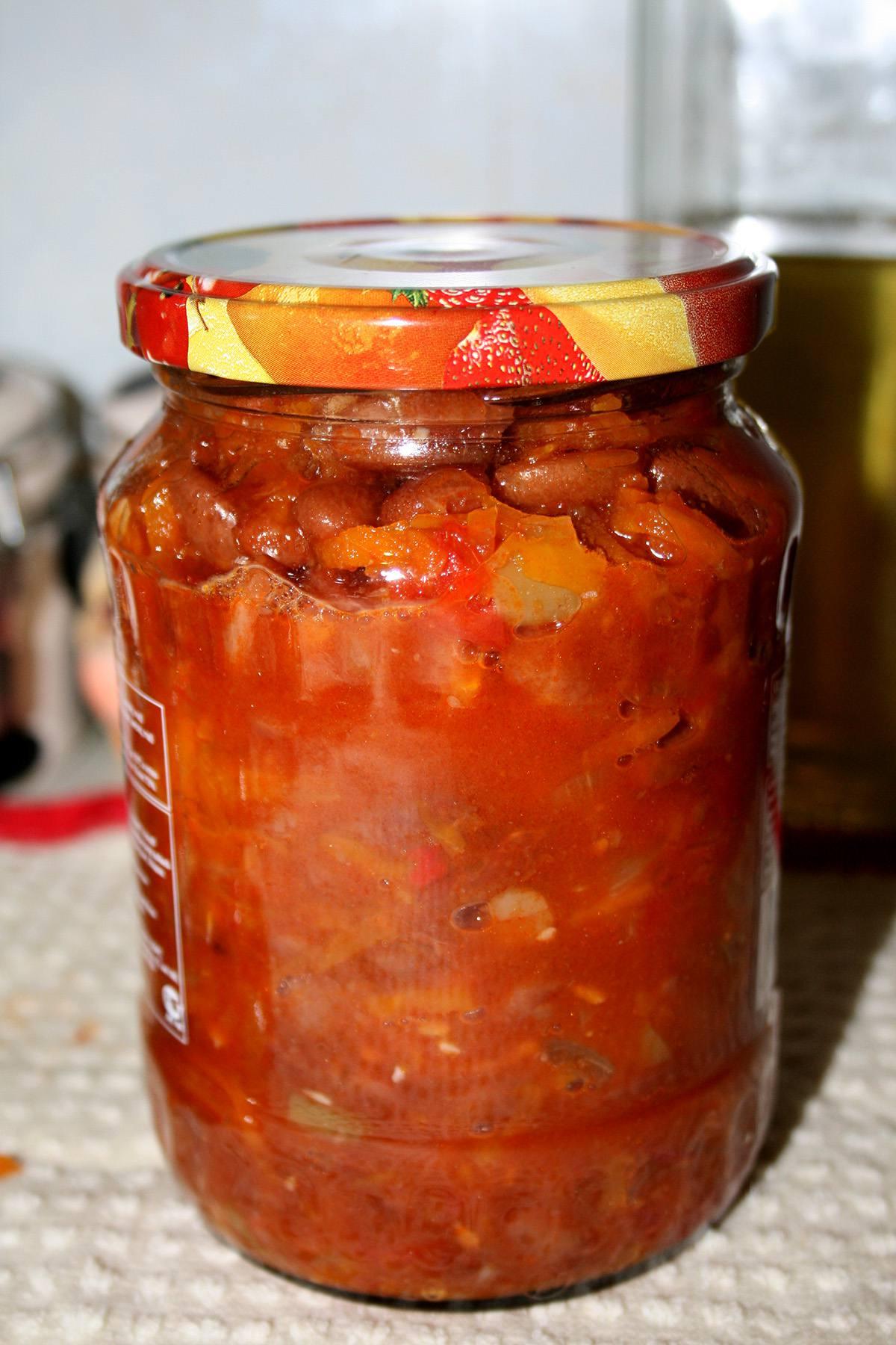 Фасоль в томатном соусе на зиму рецепт с фото пошагово - 1000.menu