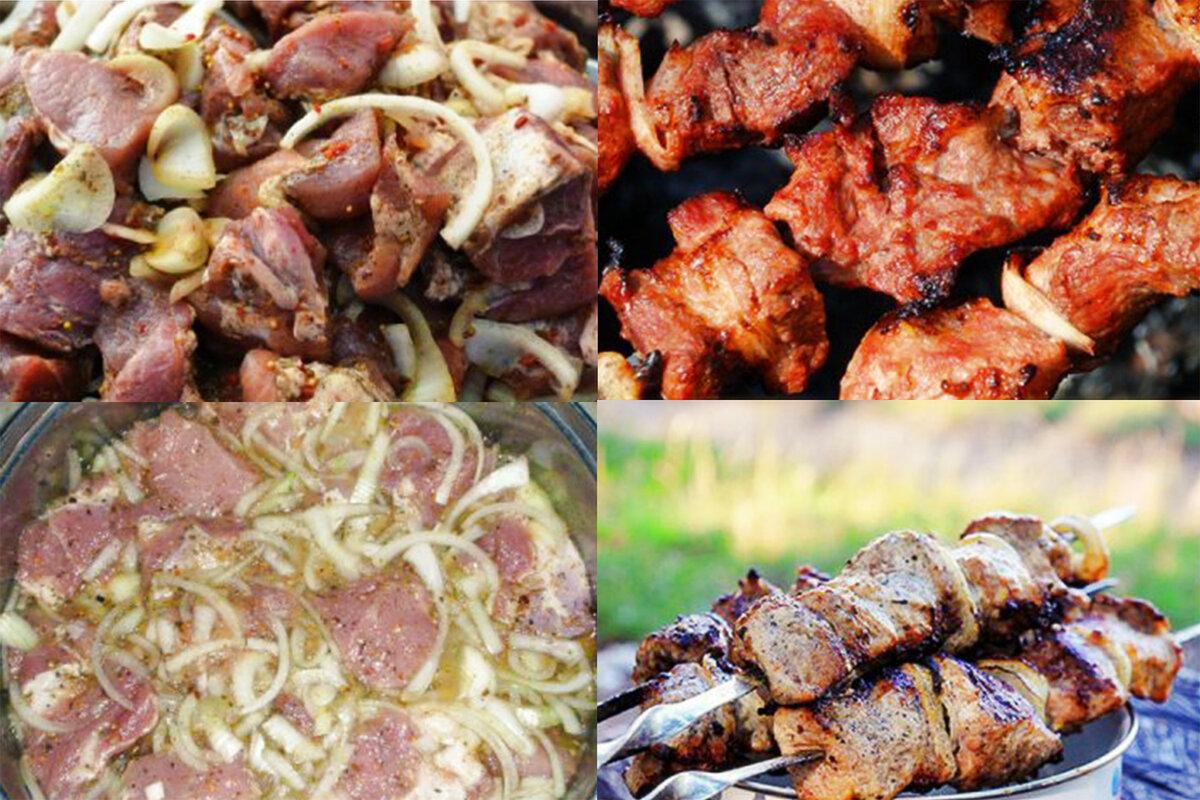 Шашлык из свинины — 8 лучших рецептов маринада, чтобы мясо было мягким и сочным