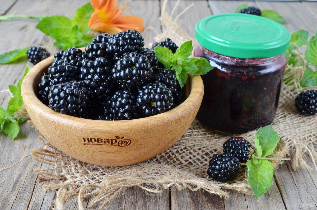 Варенье из ежевики - рецепты приготовления на зиму, польза ягод, фото