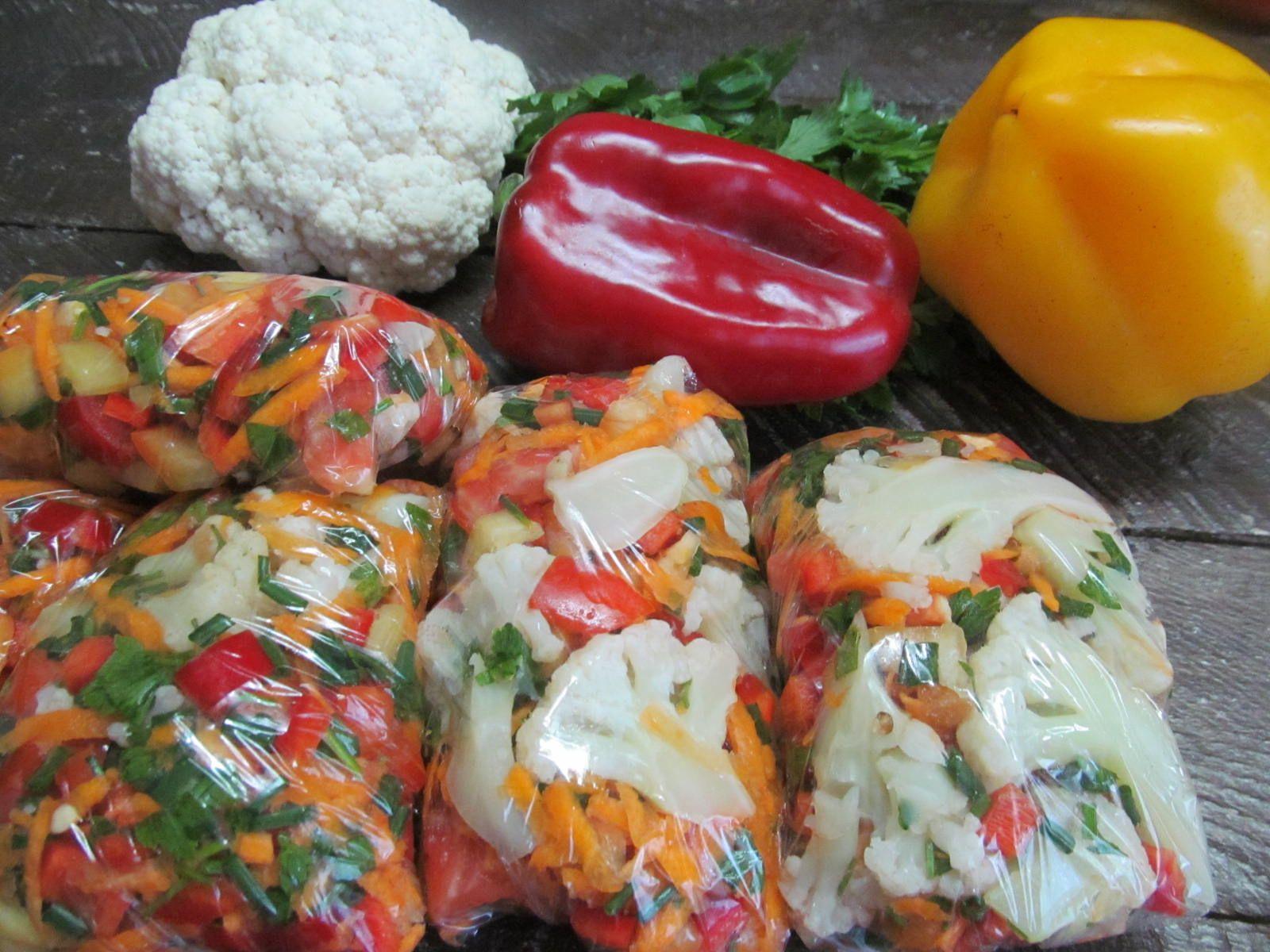 Заморозка овощей на зиму в домашних условиях - баклажаны, болгарский перец, брокколи