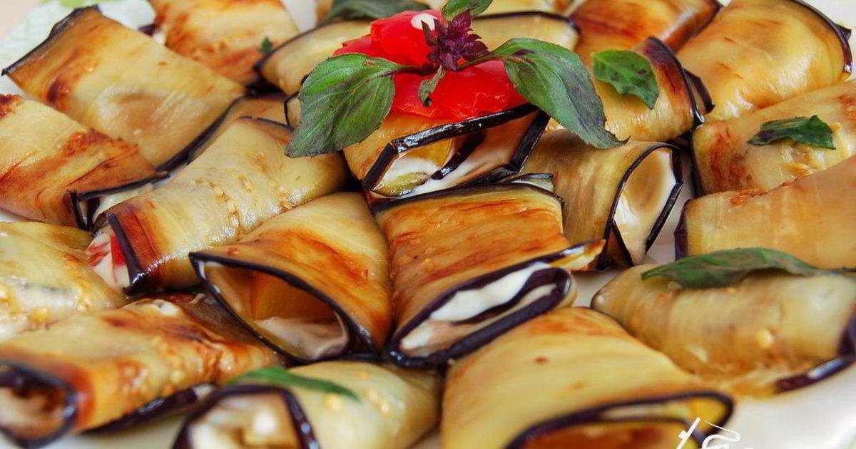 Рецепты рулетов из баклажанов - со вкусом