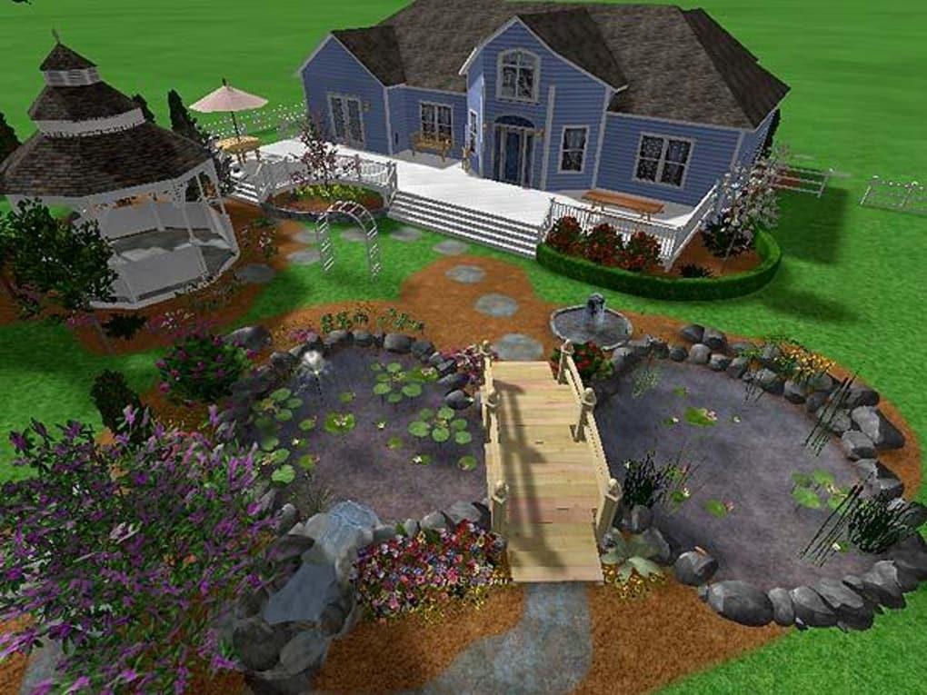 Урок 32 — добавляем террасу в realtime landscaping architect   flokus.ru - ландшафтный дизайн