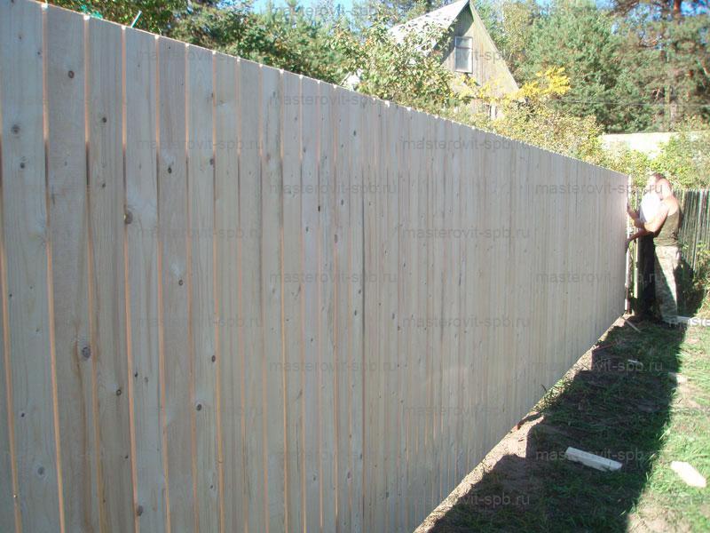 Какой забор выбрать для загородного участка. сравнительный анализ.