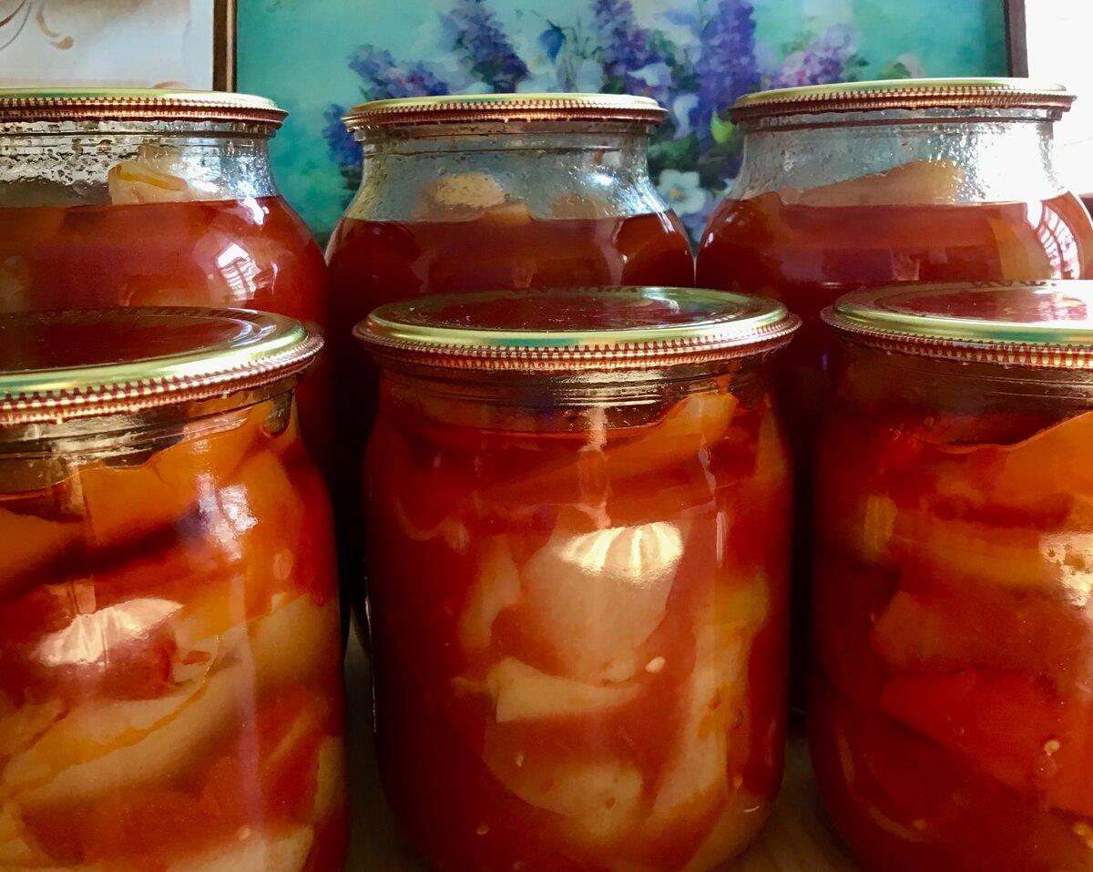 Перец маринованный на зиму в томатном соусе: 5 лучших пошаговых рецептов приготовления