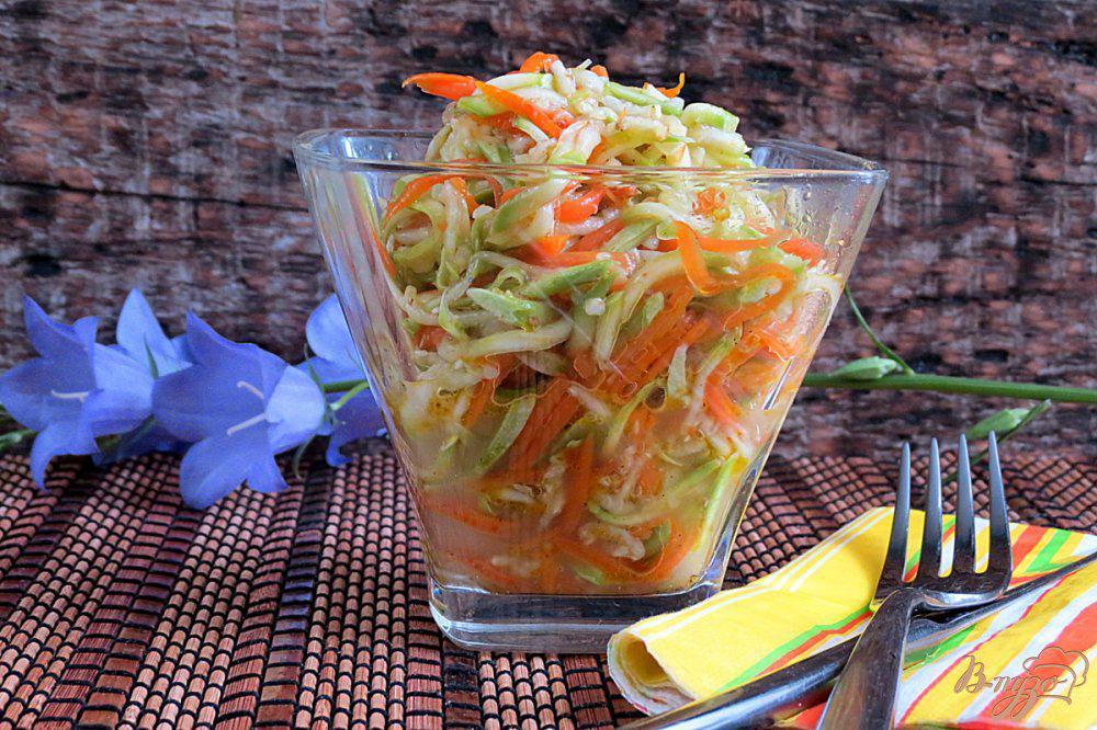Маринованные кабачки по-корейски быстрого приготовления - рецепты