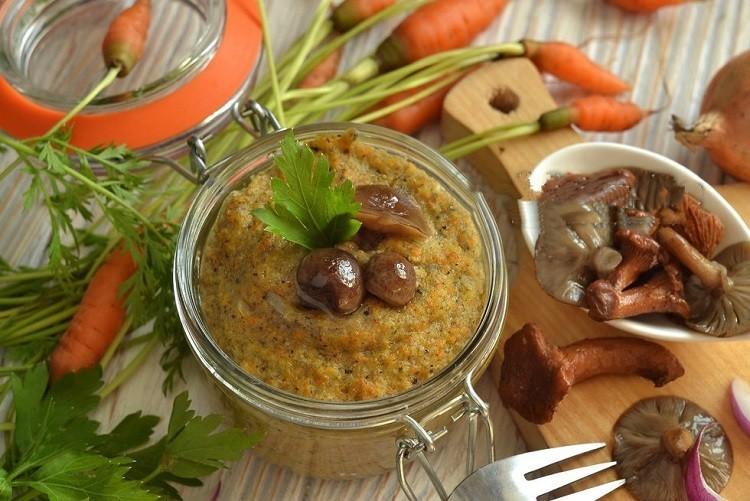 Грибная икра - самые вкусные рецепты закуски на каждый день и на зиму