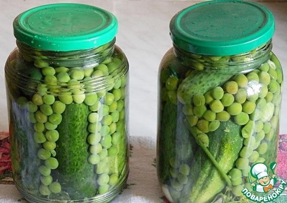 Зеленый горошек на зиму - консервирование в домашних условиях