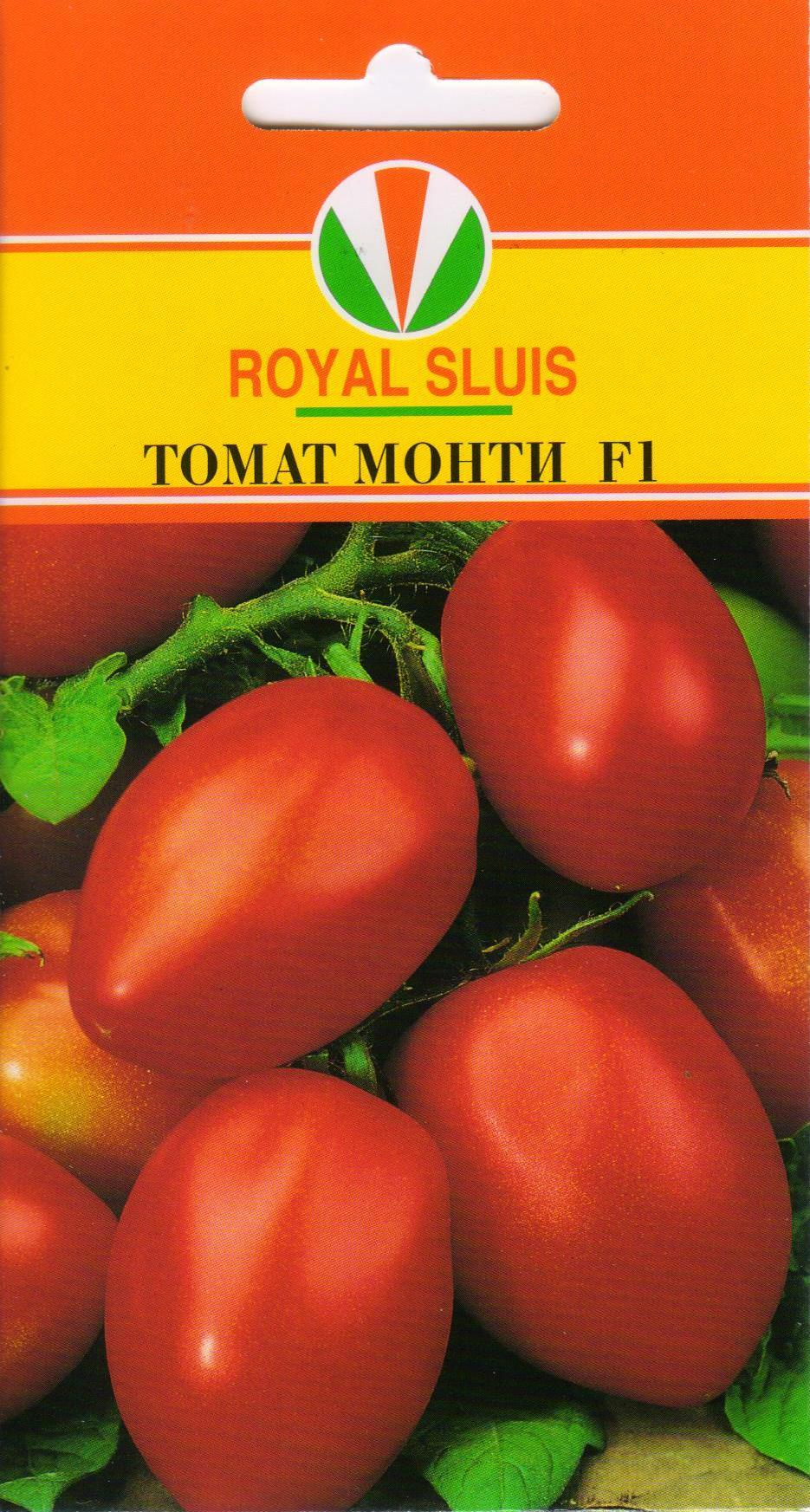 Описание томата Монти F1 и его характеристики