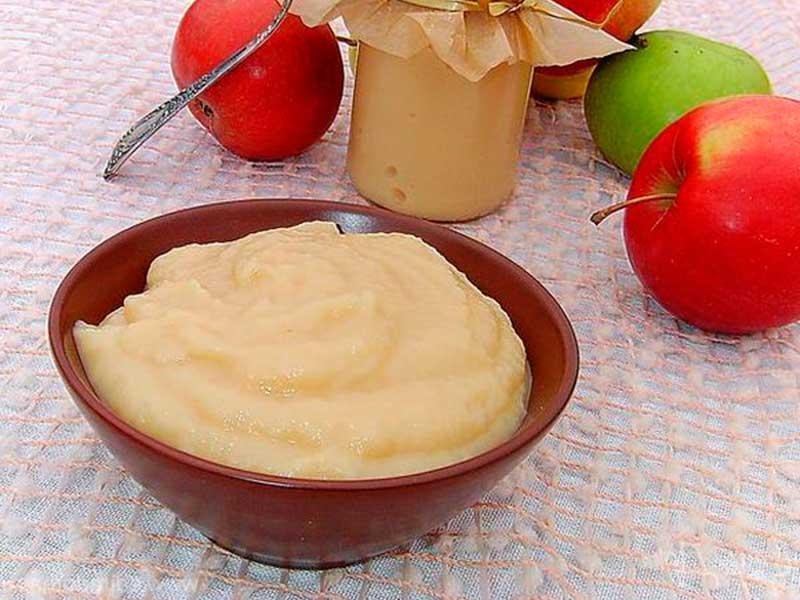 Лучшие рецепты яблочного пюре на зиму в домашних условиях с фото