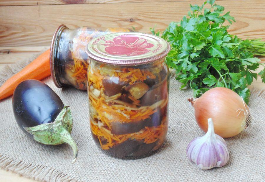 3 лучших рецепта приготовления баклажанов с луком на зиму