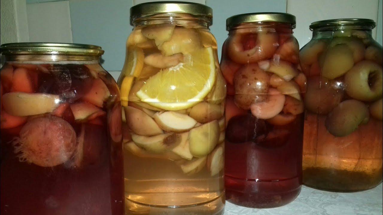 Как сварить компот из яблок в кастрюле вкусно и правильно