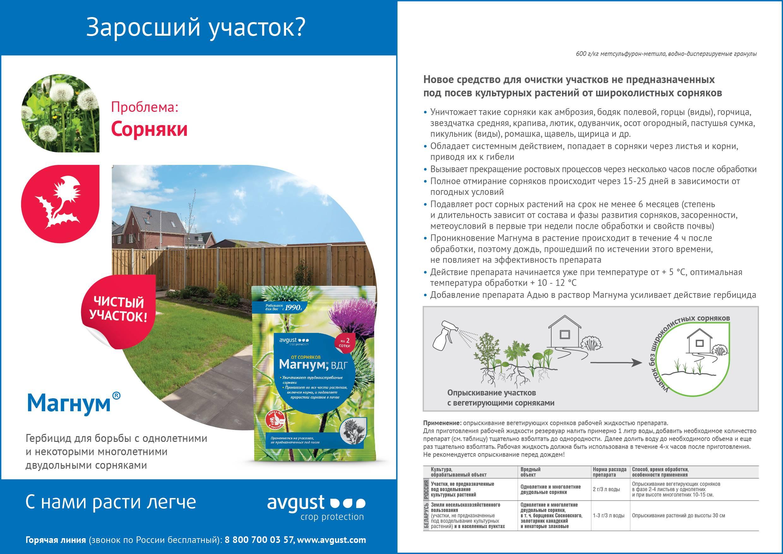 Граунд от сорняков: отзывы и инструкция по применению препарата