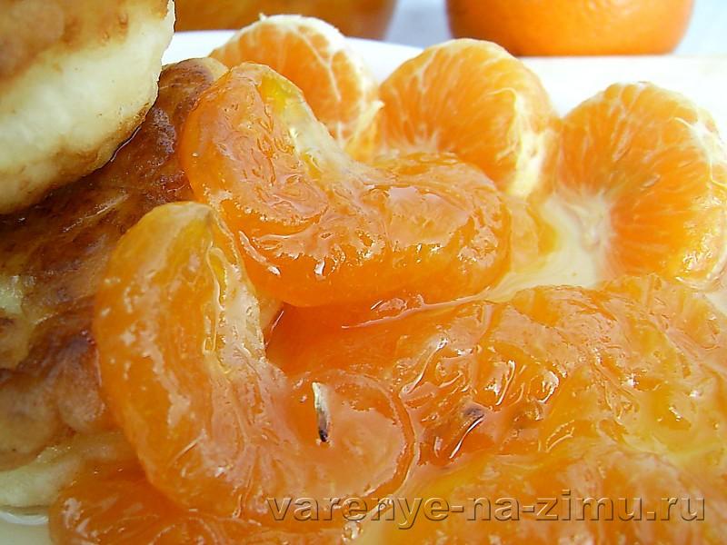 Варенье из мандаринов: 7 пошаговых рецептов в домашних условиях с фото и видео