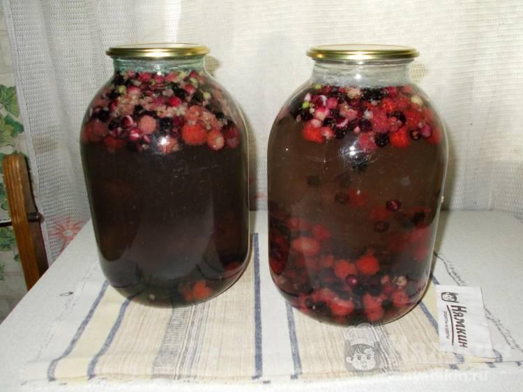 Компот из черешни за зиму, 5 простых рецептов на 3-х литровую банку