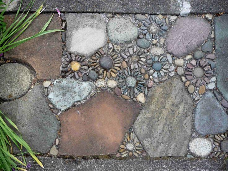 Речная галька: идеи применения для дома и сада