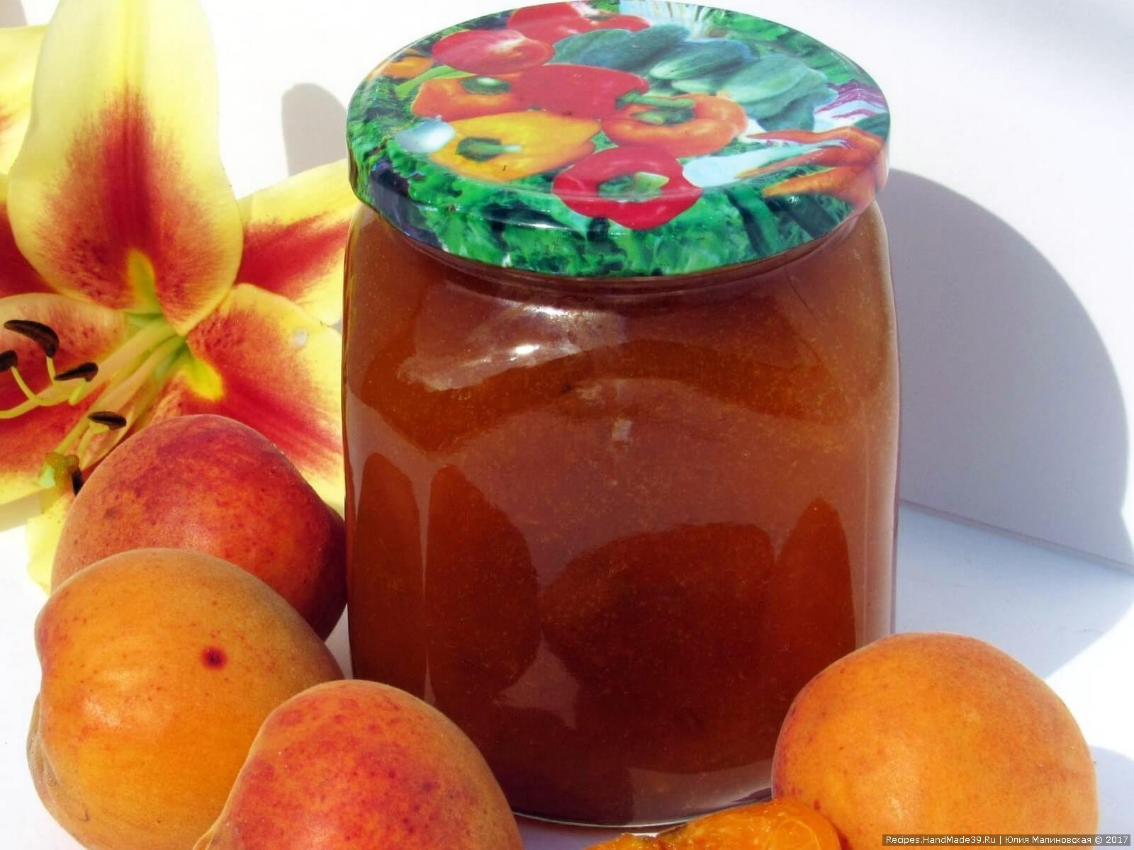 Варенье из персиков и слив