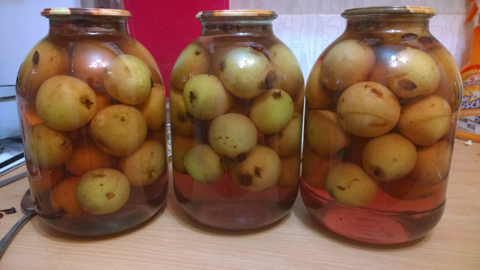 Сливовый компот на зиму: рецепты на литровую банку из слив с косточками и без