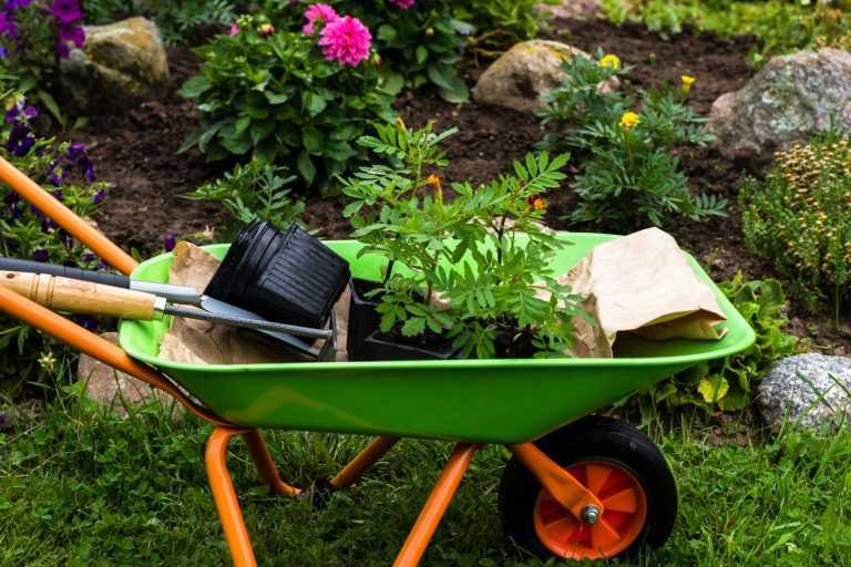 Как сделать садовую тачку своими руками