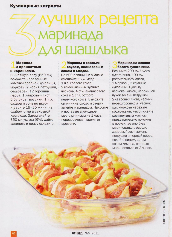 Маринад для шашлыка из свинины — 17 рецептов, чтобы мясо было мягким и сочным