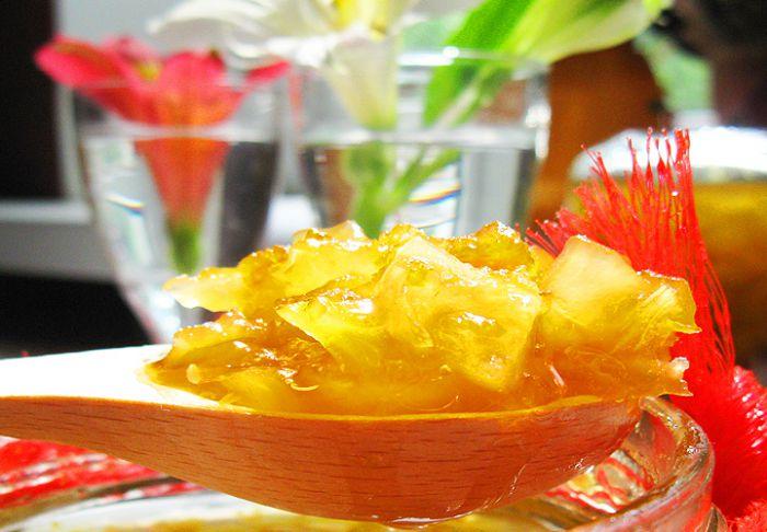 Рецепт кабачкового варенья с лимоном и апельсином
