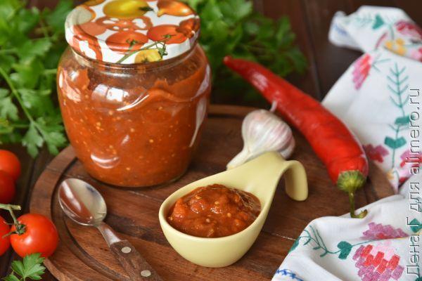 Лютеница по-болгарски — рецепт на зиму в домашних условиях