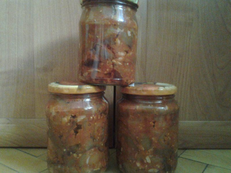 """Заготовка на зиму """"тещин язык"""" из баклажанов, вкусные домашние рецепты"""