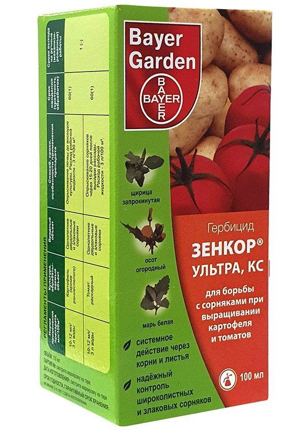 Зенкор: инструкция по применению от сорняков на картофеле и меры безопасности