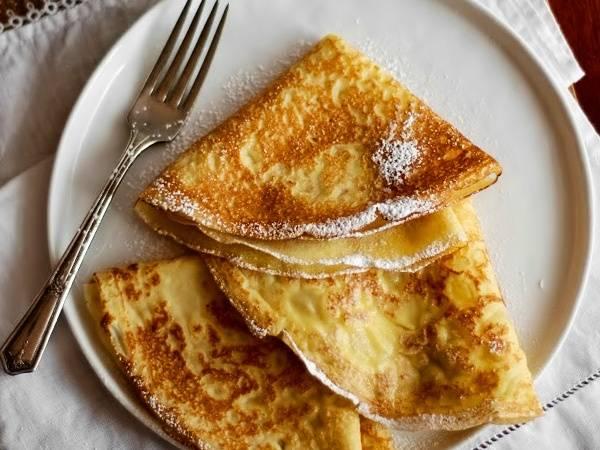 Французские лимонные блины