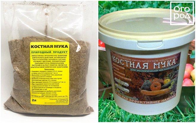 Костная мука как удобрение: химический состав, критерии выбора и инструкция по применению для растений
