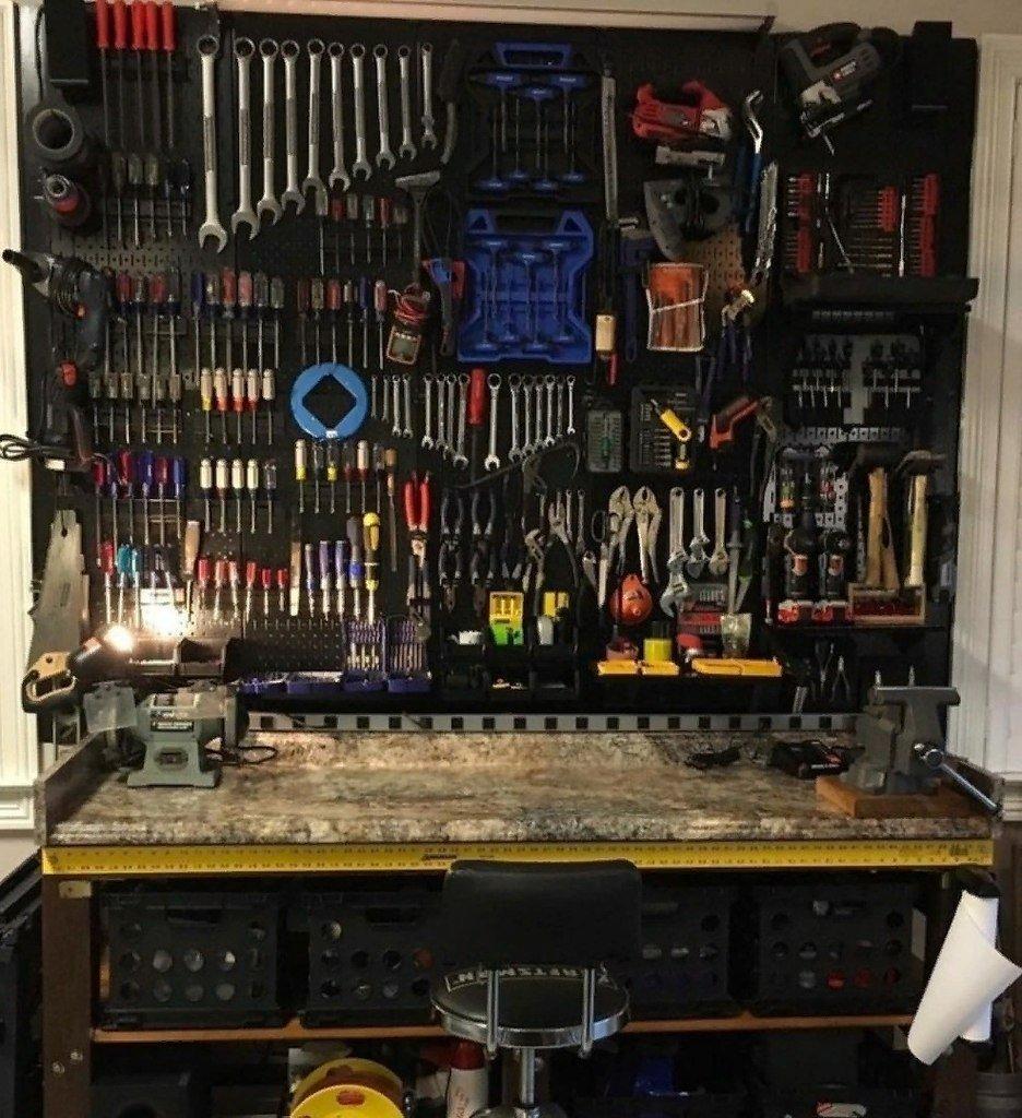 Внутреннее обустройство гаража своими руками