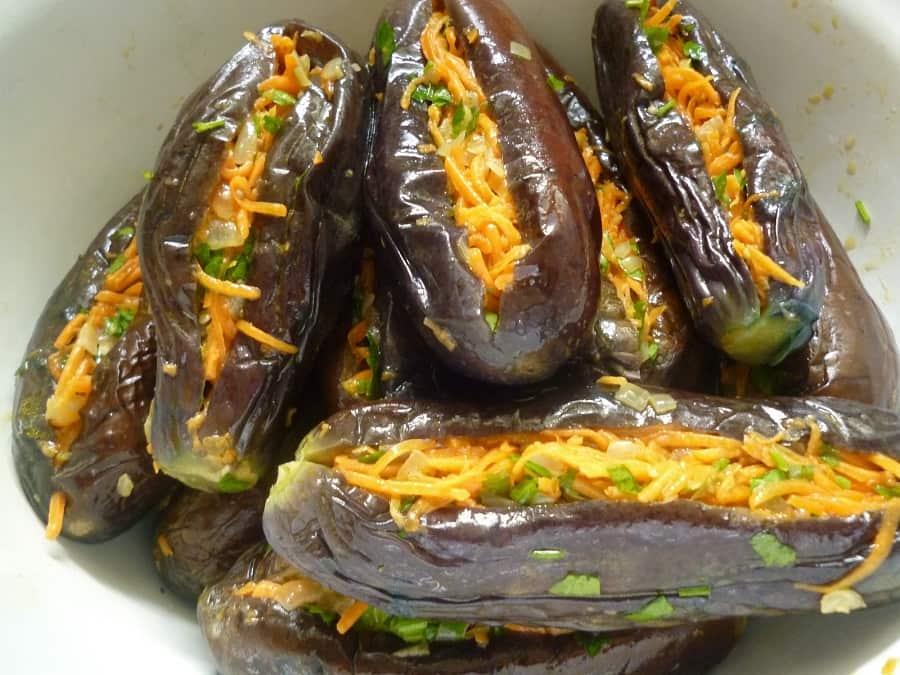 10 вкуснейших салатов из баклажанов на зиму