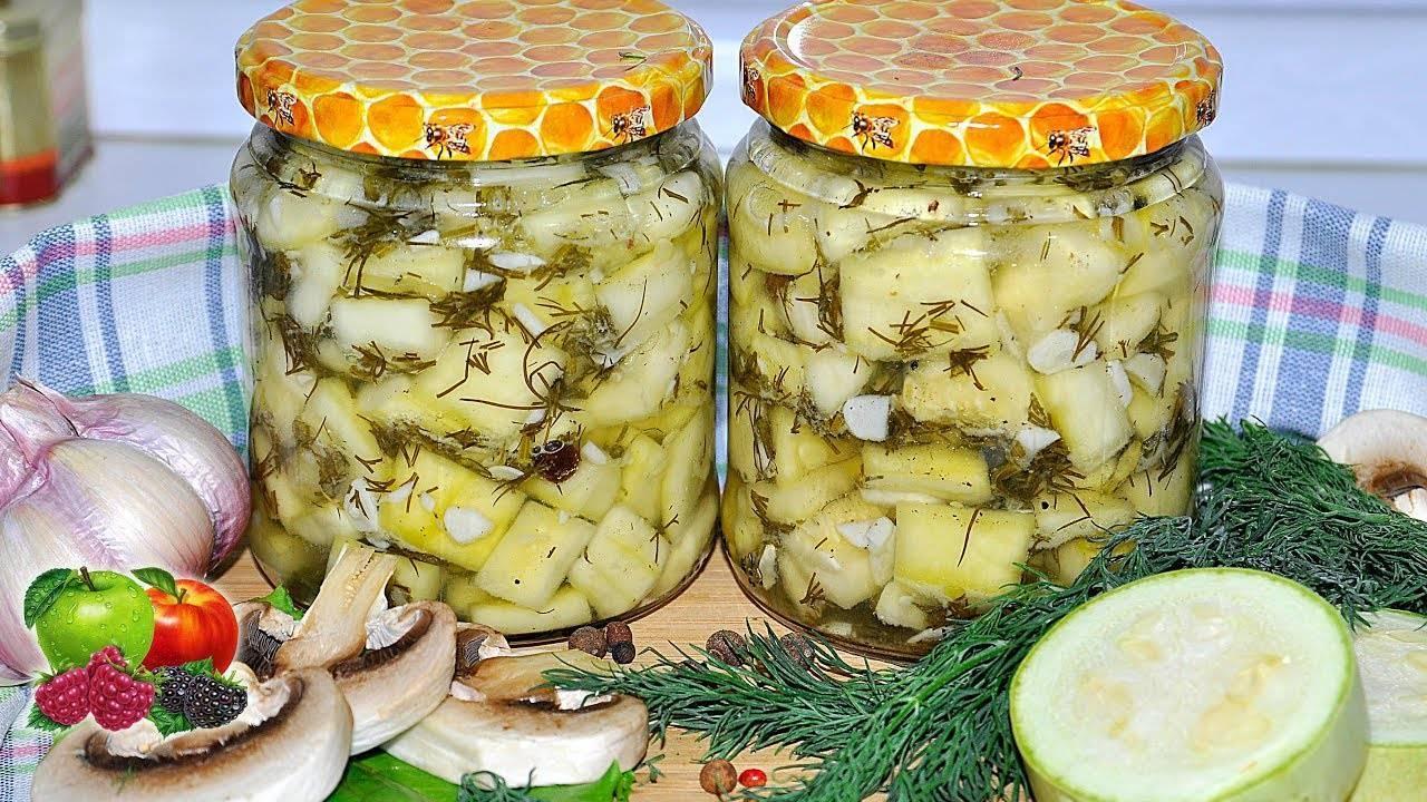 Кабачки на зиму: 15 проверенных и вкусных рецептов