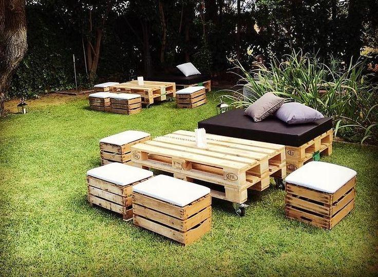 Садовая мебель своими руками: лучшие идеи и примеры оригинального изготовления