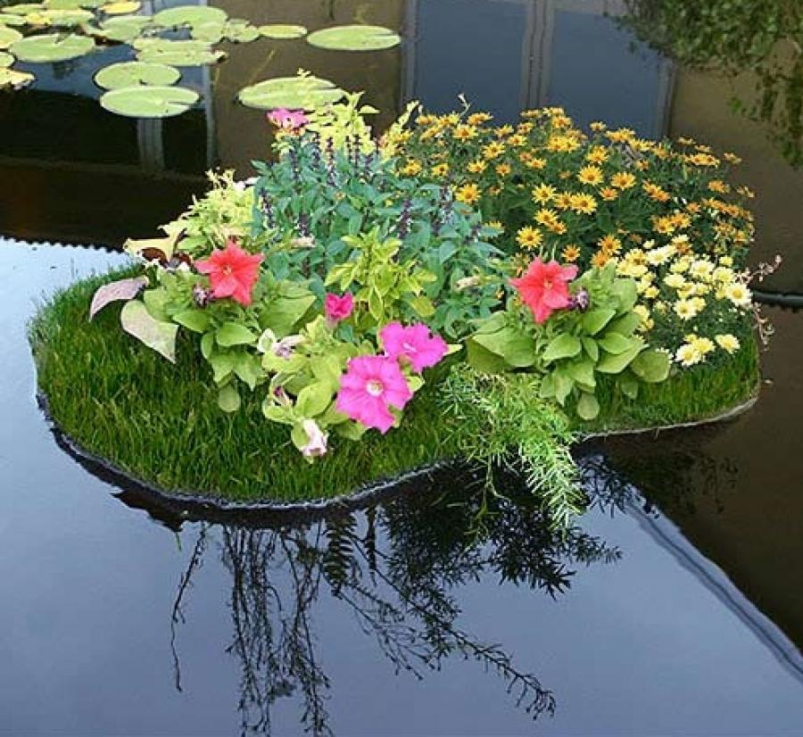 Выбор пленки для садового пруда - виды, как подобрать и установить