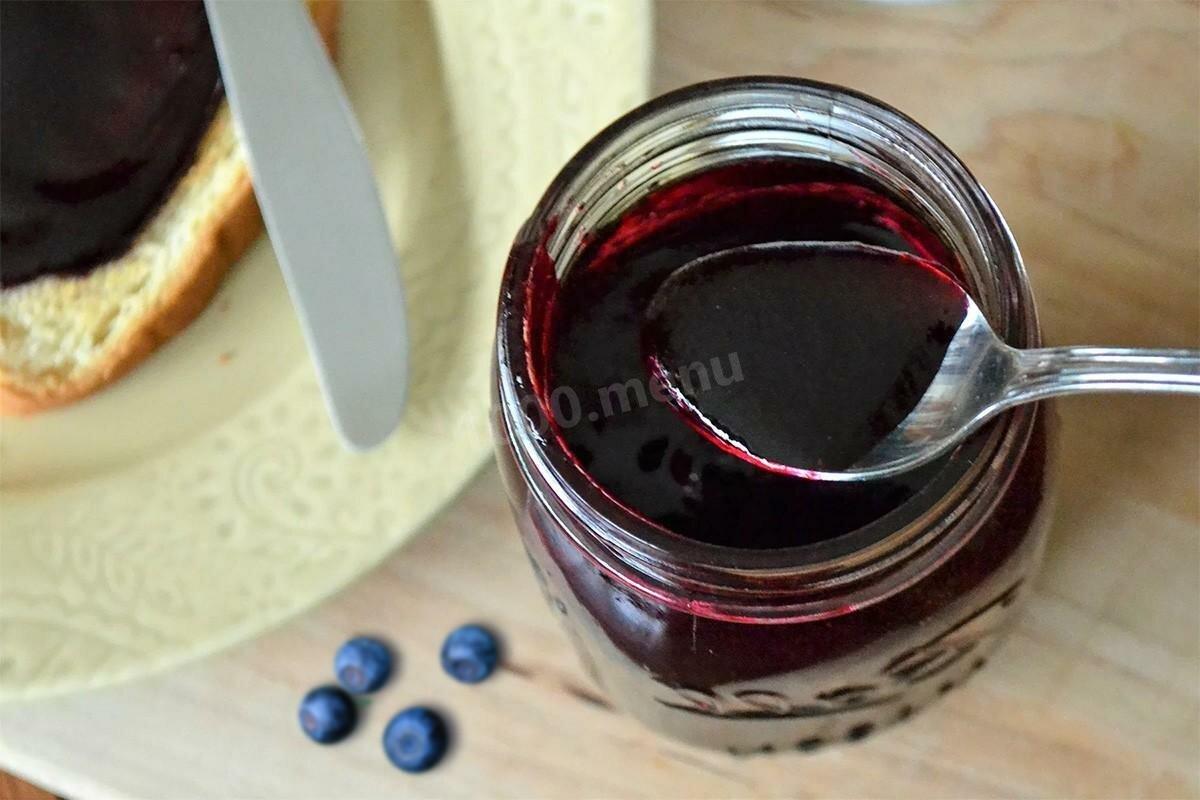 ТОП 10 простых рецептов приготовления желе из черники на зиму