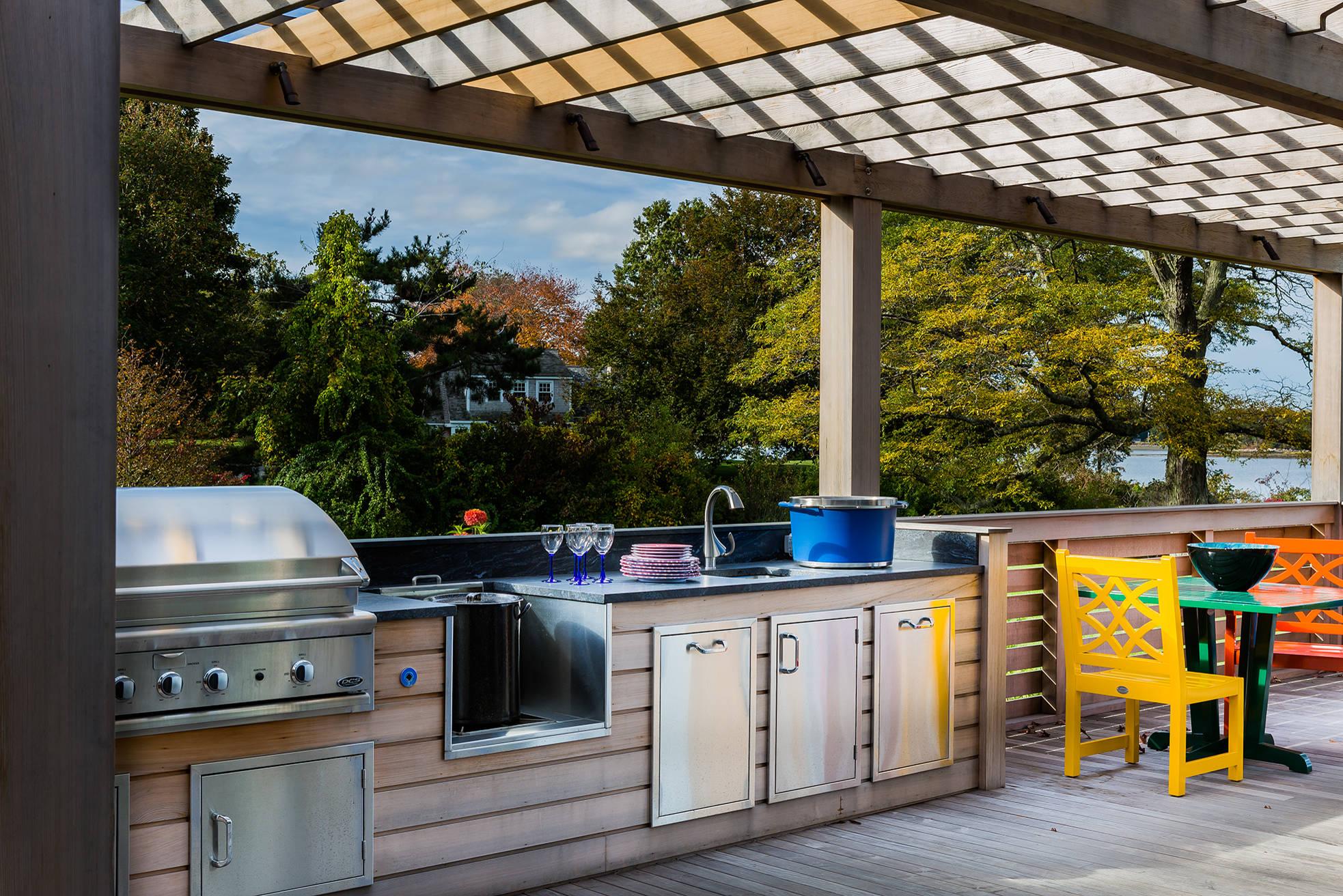 Летняя кухня на даче: проекты, фото, как построить своими руками