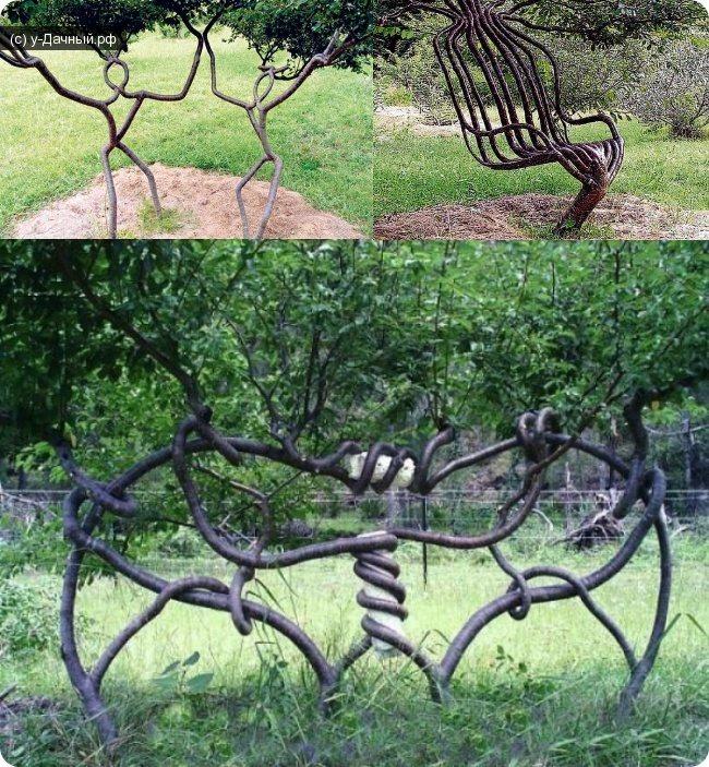 Арбоскульптура: характерные особенности, изготовление своими руками, фото