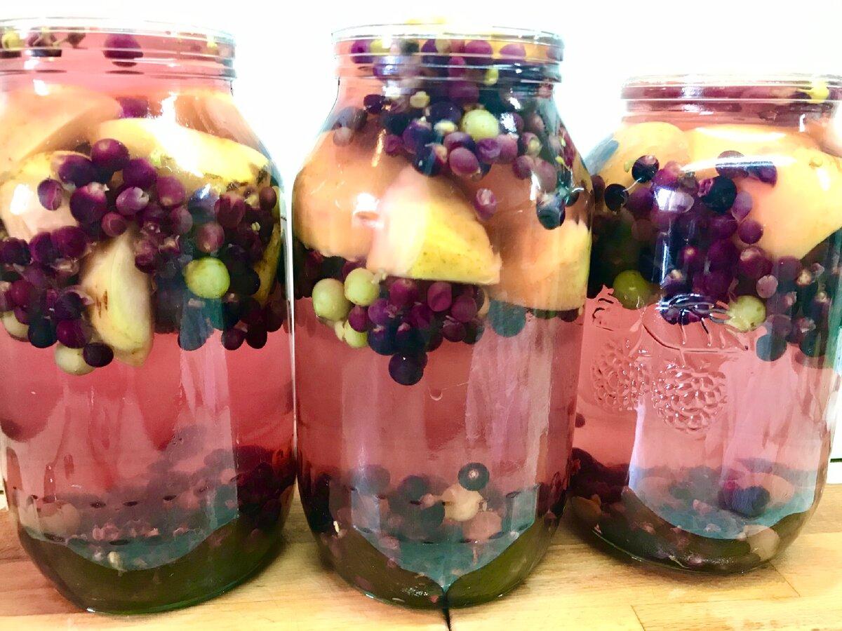 Компоты из винограда и яблок – красивое и ароматное чудо. обязательно запаситесь компотом из винограда и яблок на зиму - автор екатерина данилова - журнал женское мнение