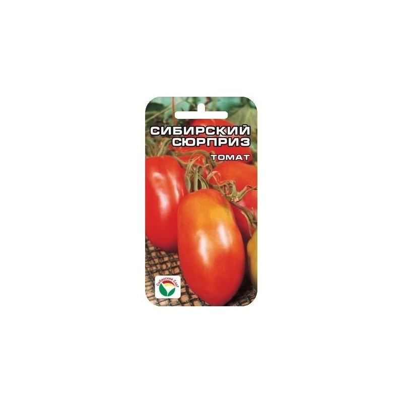 Характеристика томата Сибирский сюрприз и выращивание рассадным способом