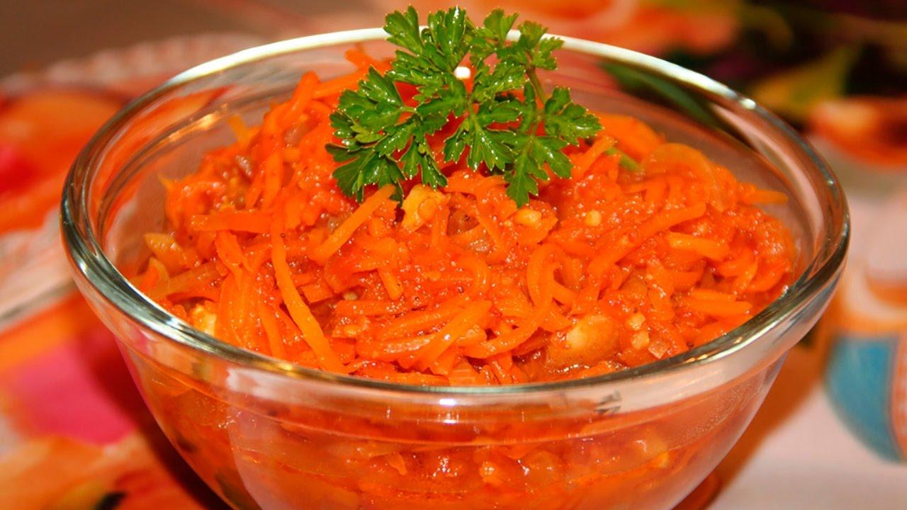 Морковь по-корейски на зиму в банках: консервирование