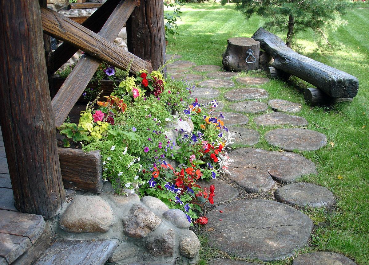 Создание сада в стиле кантри - дуэт пользы и красоты