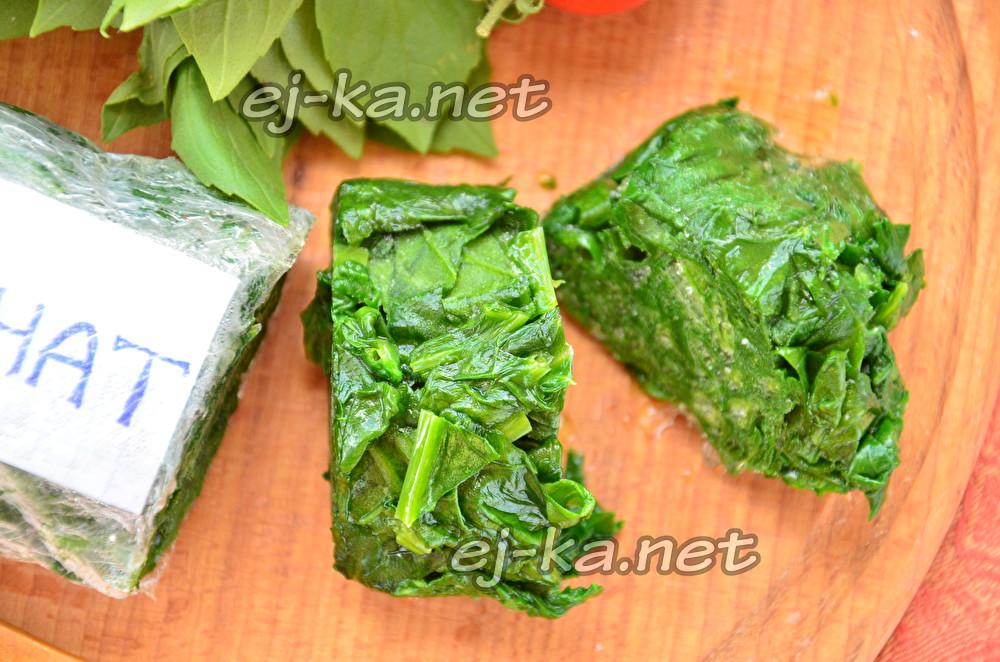 Как заморозить шпинат - рецепт с пошаговыми фото | меню недели