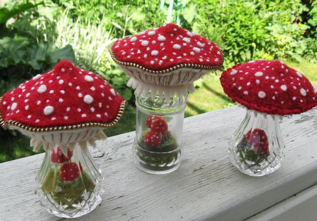 Грибы из бросового материала своими руками. поделка гриб детям (102 идеи в детский сад). на тему гриб