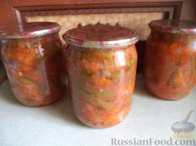 Фасоль в томате на зиму, как в магазине – 7 рецептов консервированной фасоли в домашних условиях