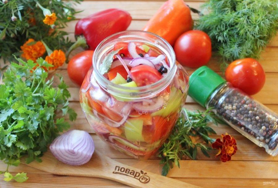 Салаты из зеленых помидор на зиму (6 лучших рецептов) |