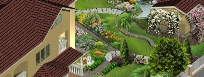 Sierra landdesigner 3d. программа для дачного проектирования sierra land designe.  0