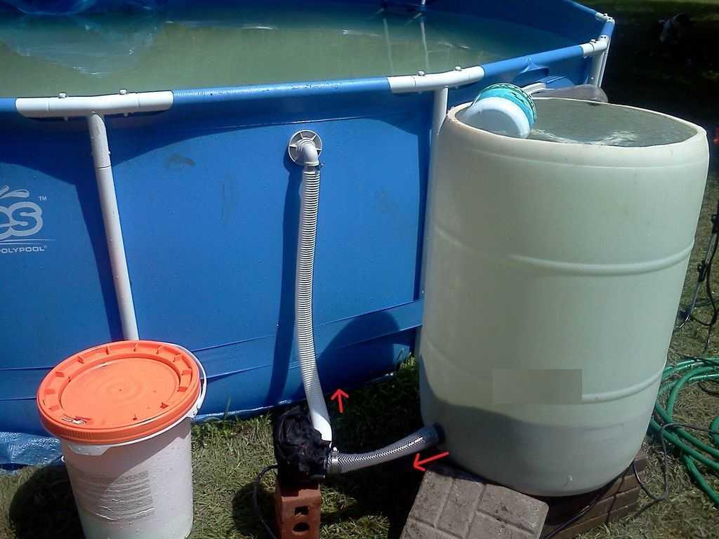 Пошаговая инструкция по сборке песочного фильтра для бассейна своими руками